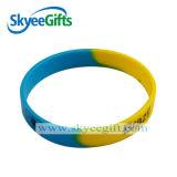 Die preiswertesten und bunten kundenspezifischen Silikonarmbänder oder die Wristbands