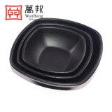 """Bacia do quadrado da louça dos utensílios de mesa da arte da melamina (W1505 5 """" 6 """" 7 """")"""