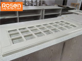 Laca Refacing cinza metálico armário de cozinha de design
