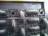 Промышленные чугунные дымового газа оборудования котельной Economizer рекуперации тепла