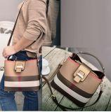 キャンバスおよびHandbag Fashion Bags Designer PU Leahterのハンドバッグの女性のバッグレディーのハンドバッグの女性ハンドバッグのハンド・バッグ(WDL0354)