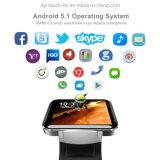 téléphone intelligent de montre du poignet 3G/GPS avec la WiFi-Fonction et l'appareil-photo Dm98