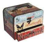 Boîte à bijoux vintage Boîte de rangement pour bijoux en bois
