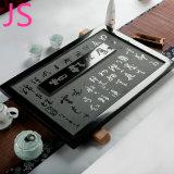 Bandeja tradicional chinesa bem-desenvolvida do jogo de chá da pedra do granito