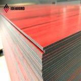 3-5mm Revêtement PVDF panneau composite en aluminium en bois (AE-304)