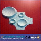Acoustique efficace en fibre de polyester de panneaux de type 3D