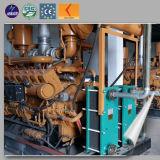 groupe électrogène sans frottoir de groupe électrogène du gaz 500kw naturel vers la Russie