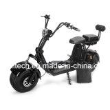 grand Harley scooter électrique Citycoco de 60V 1500W avec la batterie amovible