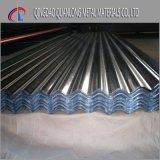 Tôle d'acier ondulée galvanisée de toit avec le zinc 120GSM