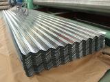 feuille ondulée galvanisée plongée chaude de toiture de 0.13mm SGCC