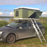 옥외 섬유유리 자동적인 야영 차 단단한 쉘 지붕 상단 천막
