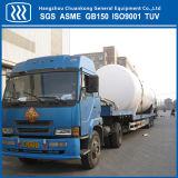 半中国の低温液化ガスの二酸化炭素のトレーラーのタンカー