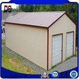 Garagem pré-fabricada da construção de aço do baixo custo e da alta qualidade