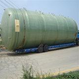 Serbatoio orizzontale del prodotto chimico del contenitore di memoria dell'acqua del combustibile derivato del petrolio del serbatoio settico del serbatoio del combustibile di FRP/GRP