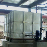 Fibra de vidro do recipiente do tanque de água de FRP