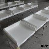 Custom Countertops en quartz artificiel blanc pur sur mesure