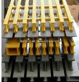 T-staaf 1 '' diep 35% of 50%, Grating van Pultruded Pedestring van de Glasvezel 60%Open, Pultrusion van de Glasvezel Grating