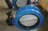 Doppeltes flanschte Anschluss-konzentrisches Drosselventil mit Cer ISO Wras (D341X-10/16)