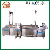 Frigideira contínua da filtragem da frigideira contínua industrial dos petiscos