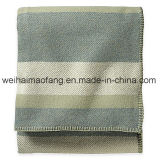 Сплетенное одеяло шерстей чисто девственницы Merino