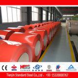 Vorgestrichenes Signal des Stahl-PPGI Ral 3001 rot