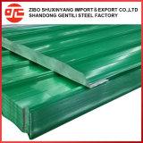 Строительных материалов с полимерным покрытием металлического листа крыши