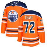 2018 Nova Marca homens Lady Juventude Edmonton Lubrificadores 72 Gregory Chase 29 Leon Draisaitl 28 Grayson Downing Jessé Puljujarvi qualquer Nome Personalizado Laranja & N. Hockey camisolas