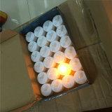 preço de fábrica 10g Flameless Chá círio luz de LED