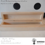 Пользовательские Hongdao бамбук деревянная упаковка перьев окно с подкладкой оптовой _E