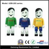 Driver istantanei del USB del regalo/disegno umano (USB-205)