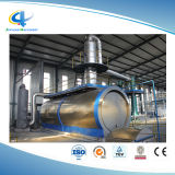 A reciclagem de pneus usados o óleo de borracha para instalações de destilação