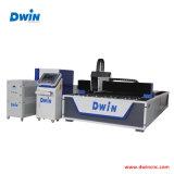 Machine de découpage de laser de fibre de feuillard acier inoxydable en aluminium//acier du carbone