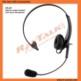 RHS-03 leve fone de ouvido para comunicação de rádio bidirecional