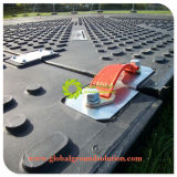Черный цвет/100% Custom временной дорожной коврик с помощью для защиты дороги для Европы