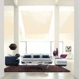 Diseño simple combinación de muebles de salón sofá de tela