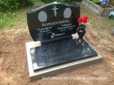 Pietra tombale europea/russa/americana del granito di stile//monumento/Headstone di marmo con Designent su ordinazione