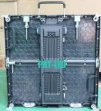 Afficheur LED P8.928 polychrome de location extérieur avec le panneau 500X500mm/500X1000mm