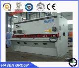 Tagliatrice di taglio del piatto d'acciaio della macchina della ghigliottina idraulica di CNC