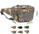 8 couleurs de chasse tactique militaire de l'exécution de la courroie de camouflage de la taille de sac de sport