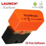 Lançamento Super X431 Idiag Icarscan Sistemas completos Easydiag Scanner Bluetooth do aparelho de diagnóstico para o Android/IOS com 10 Free Software Update Online em stock