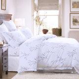 Nouvelle arrivée King Size 300TC Solid Color drap de lit Home Textile (JRD167)