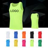 Commerce de gros logo personnalisé pas cher robe Fashion Design salle de gym Shirts Vêtements de remise en forme de vêtements décontractés Mens Stringer Tanktop