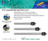 Totalmente submersíveis termóstato de água no tanque de peixes de aquário de Aço Inoxidável 50W