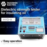 Strumentazione di perdita dielettrica dell'olio isolante del trasformatore e di prova di resistività
