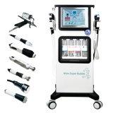 A alavanca multifuncional de RF de Spray de oxigênio Pele ultra-sónico embranquecimento esfoliação facial máquina de oxigénio