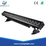 18X10W RGBW 4NO1 Sistema de luz de LED para a decoração de paredes