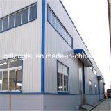 O edifício da construção de aço fabrica o armazém