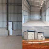 Angola Prefab Steel Structure Warehouse hangar avec grand espace