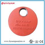 Té réducteur fileté malléable de fer FM d'homologation cotée de l'UL 168.3*42.4