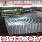 Feuille en aluminium de toiture de feuille ondulée de toit de matériau de construction